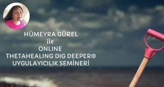 Online ThetaHealing®   Dig Deeper-Derin Kazı Semineri